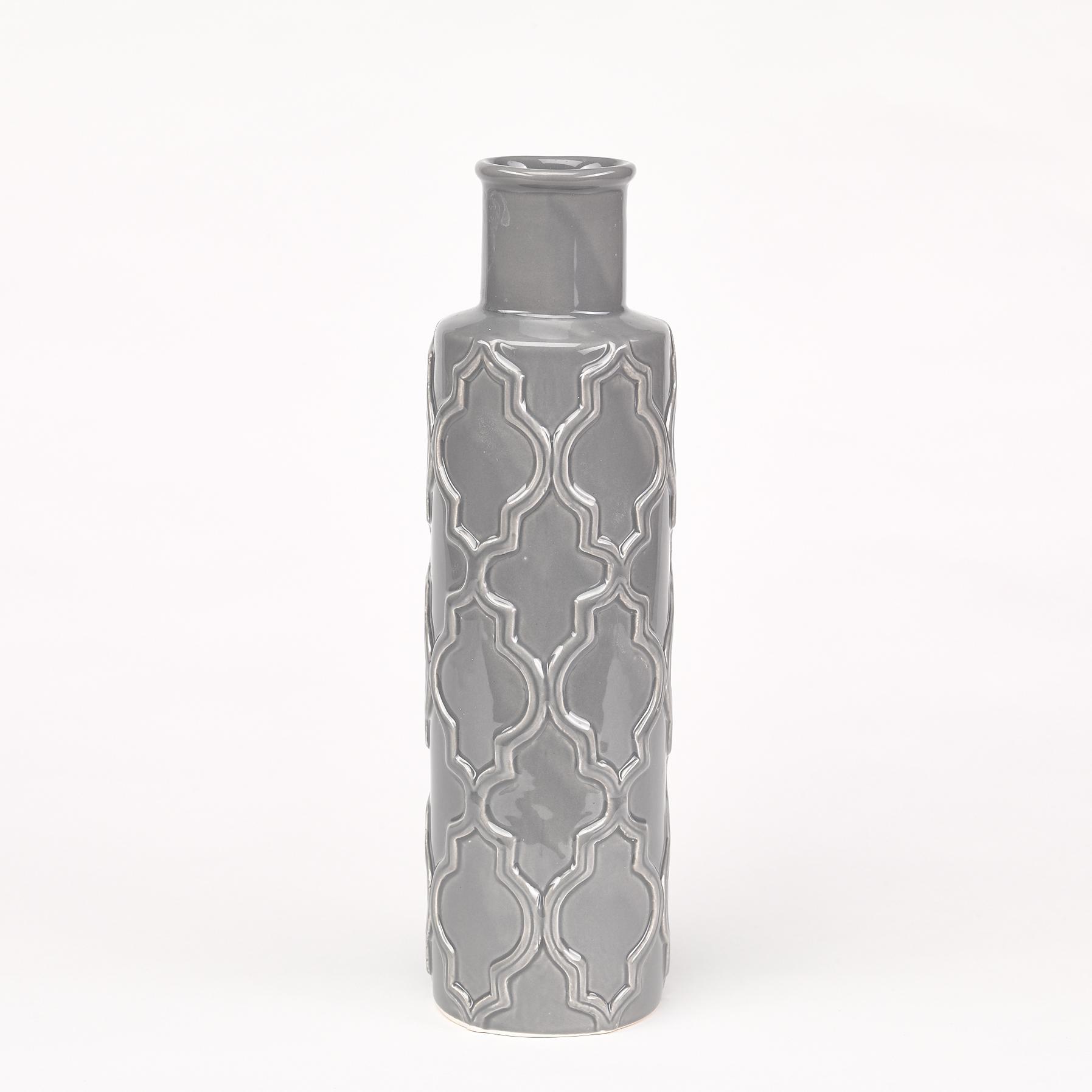 vase gris clair