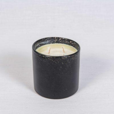 bougie noire parfumée